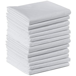 "Flannel Massage Table Sheets 55""x90""- Flat Sheets (6 Pack) 100% Cotton - SpaSupply"
