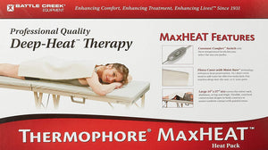 "Thermophore MaxHeat Moist Heat Pack Medium 14""x14"" - SpaSupply"
