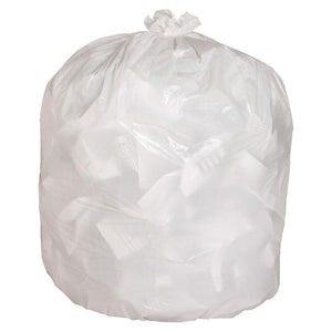 Strong Clear Series Garbage Bags (35 x 50in, 125/Case)