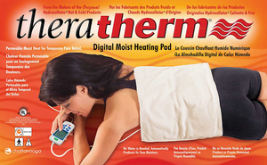"1031 Theratherm Digital Moist Heating Pad Medium 14""x14"" - SpaSupply"