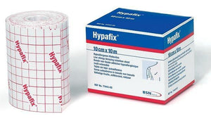 Hypafix Adhesive Dressing Retention Sheets 10cm x 10m - SpaSupply