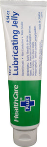 Healthcare Plus Lubricating Jelly Tube 140g 10 Pack
