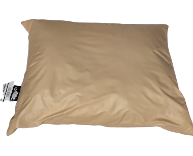 Peach Vinyl Pillow 24