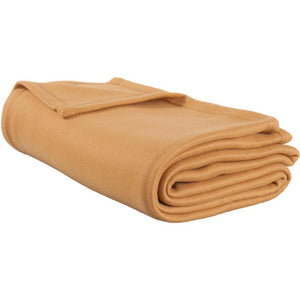 Polar Fleece Blanket Twin XL (Tan)