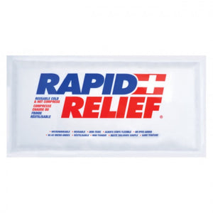 "Rapid Relief Hot/Cold 6""x10"" Pack of 2"