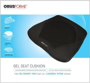 ObusForme Gel Seat Cushion - SpaSupply
