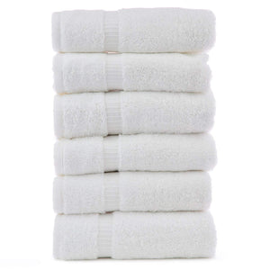 "Premium White Spa Towel 27"" x 60"" - SpaSupply"