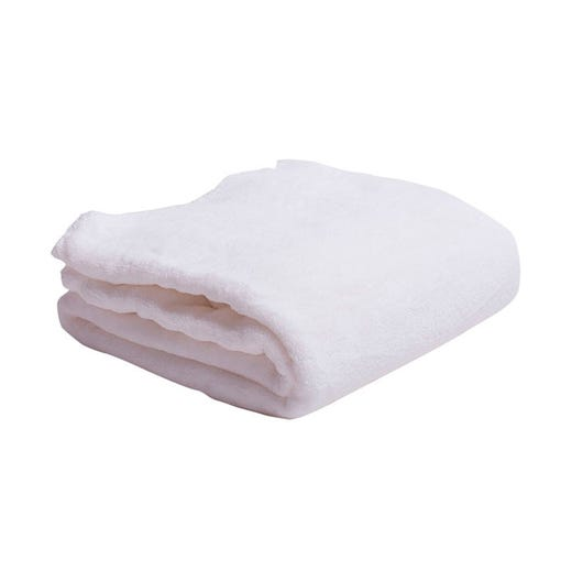 Polar Fleece Blanket Twin XL (White)