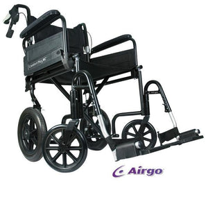 Airgo Comfort Plus XC Premium Transport Chair - SpaSupply
