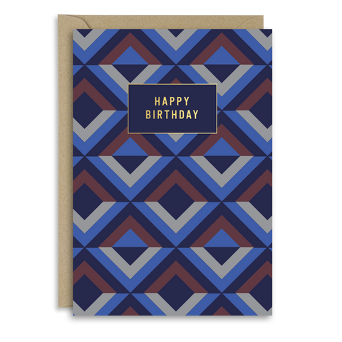Urbane Birthday card
