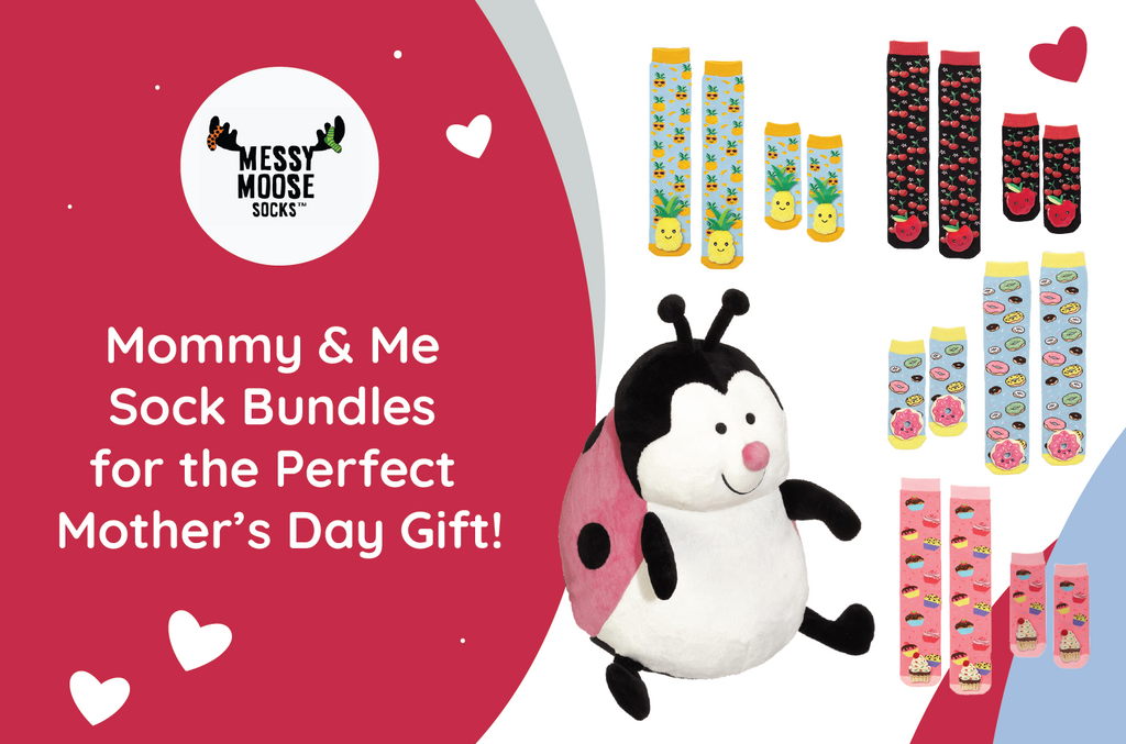 Mommy & Me Sock Bundles for the Perfect Mother's Day Gift!