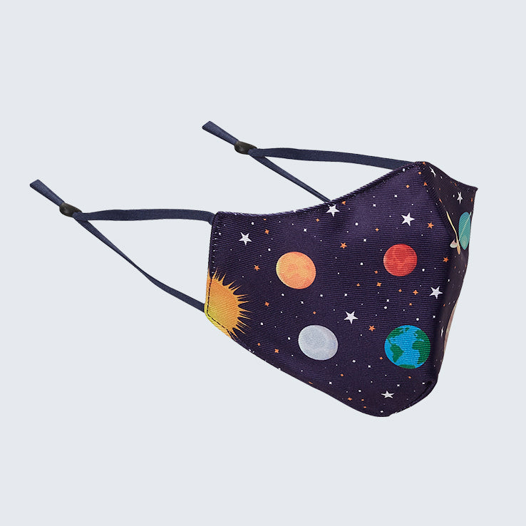 Solar System Kids Face Mask
