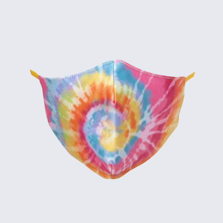 Tie-Dye Kids Face Mask