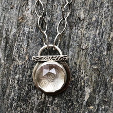 Load image into Gallery viewer, Pendant Rose Cut Quartz