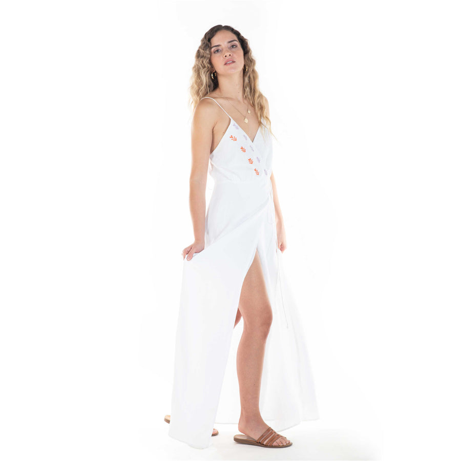 eureka dress in white