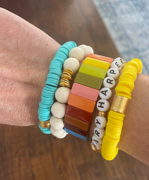Customizable Mantra/Name Bracelets