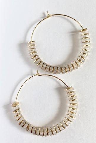 Darling Hoop Earrings