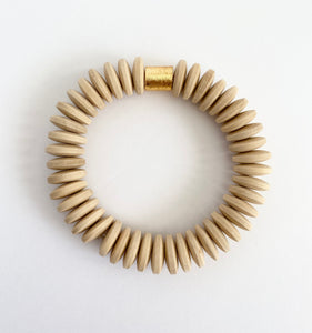 The Coco Bracelet in Light Brown