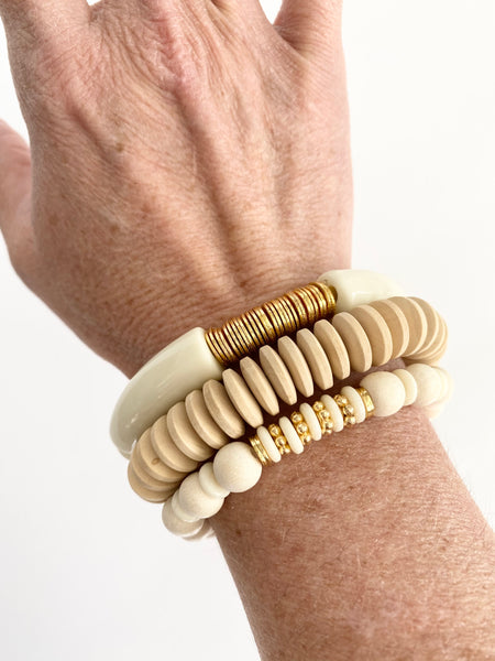 Neutral Goodness Bracelet Set