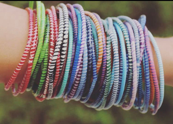 Multi-Color Everyday Bangle Bracelets