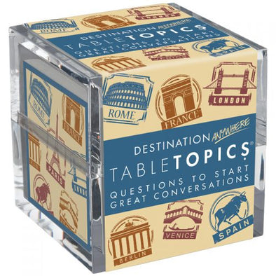 Destination Anywhere Table Topic