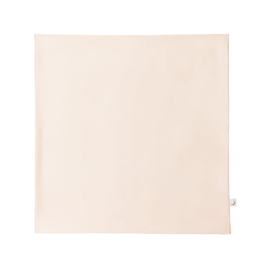 Peace Silk Pillowcase 80 x 80 german size 65 x 65 french size rosé