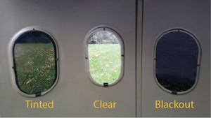 Maverick Short Vertical Plexiglass Window