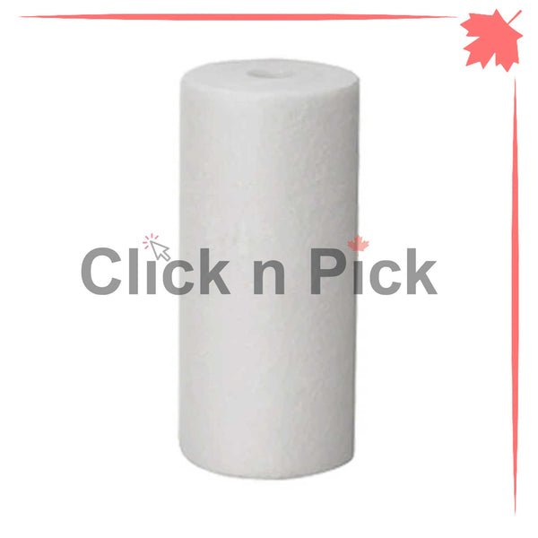 "1227865-V-BB | Valuetrex BB 1 Micron Spun Sediment Water Filter 10"" x 4.5"" - clicknpickcanada"