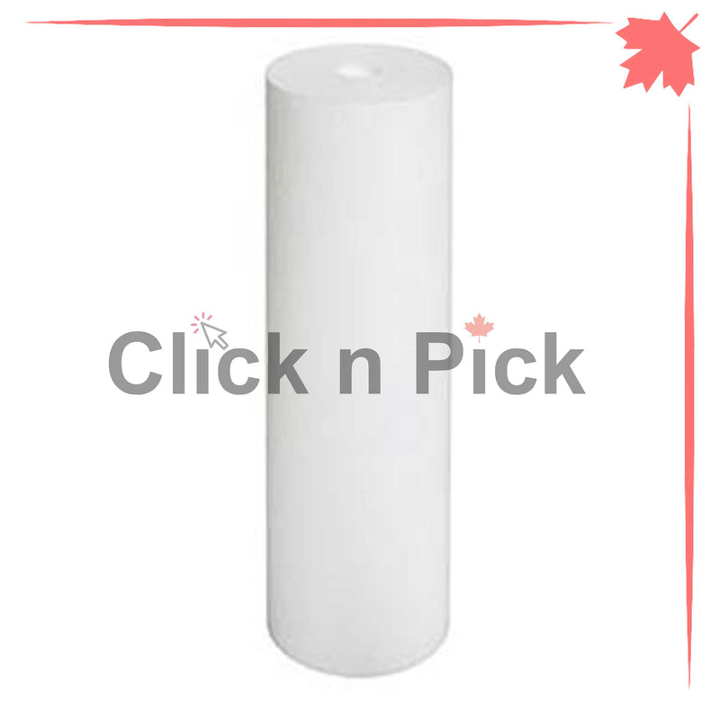 "1227866-V-BB | Valuetrex BB 1 Micron Spun Sediment Water Filter 20"" x 4.5"" - Click N Pick Canada"