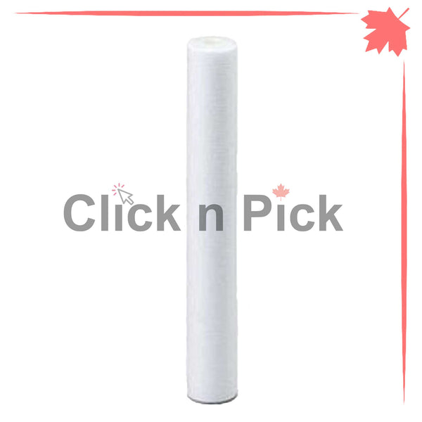 "1227866-V | Valuetrex 1 Micron Spun Sediment Water Filter 20"" x 2.5"" - clicknpickcanada"