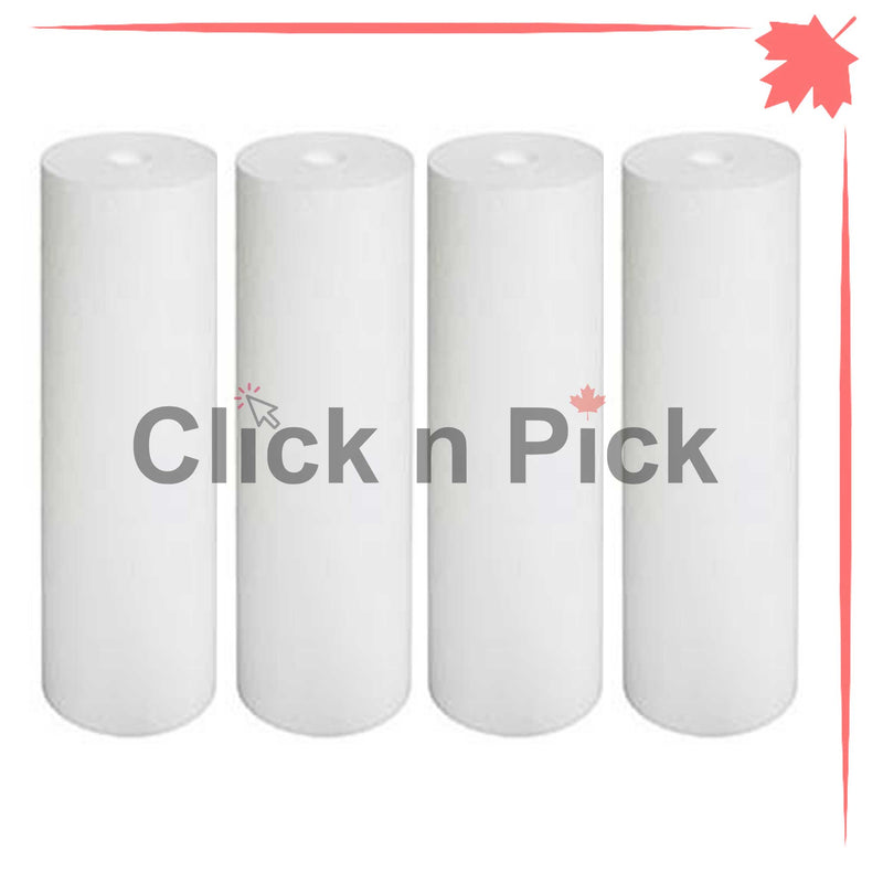 "1227868-V-BB | Valuetrex BB 5 Micron Spun Sediment Water Filter 20"" x 4.5"" (4 pack) - clicknpickcanada"