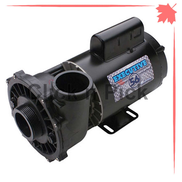 "3712021-1D Waterway Spa Pump 5HP 230V 2"" 1-Speed 56-Frame - clicknpickcanada"