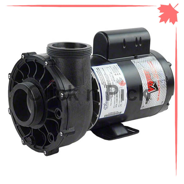 "3712021-1V Waterway Spa Pump 5HP 230V 2.5"" 1-Speed 56-Frame - clicknpickcanada"