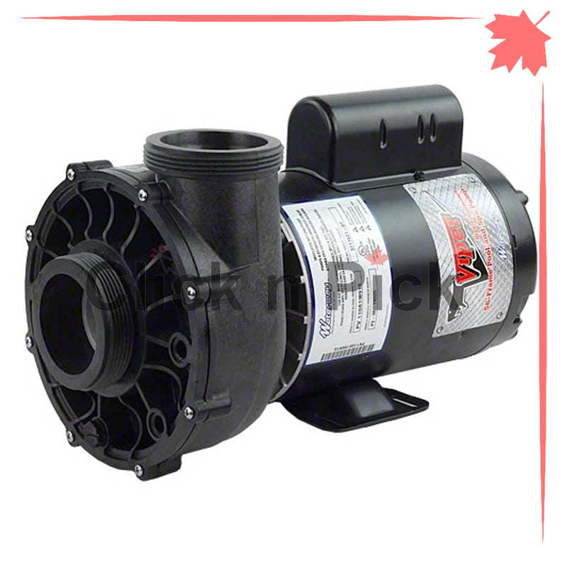 "3722021-1V Waterway Spa Pump 5HP 230V 2.5"" 2-Speed 56-Frame - Click N Pick Canada"