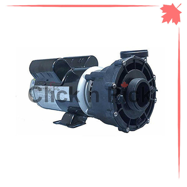"48WUA2002C-II CNP Spa Pump 3HP 230V 2"" 2-Speed 48-Frame - Click N Pick Canada"