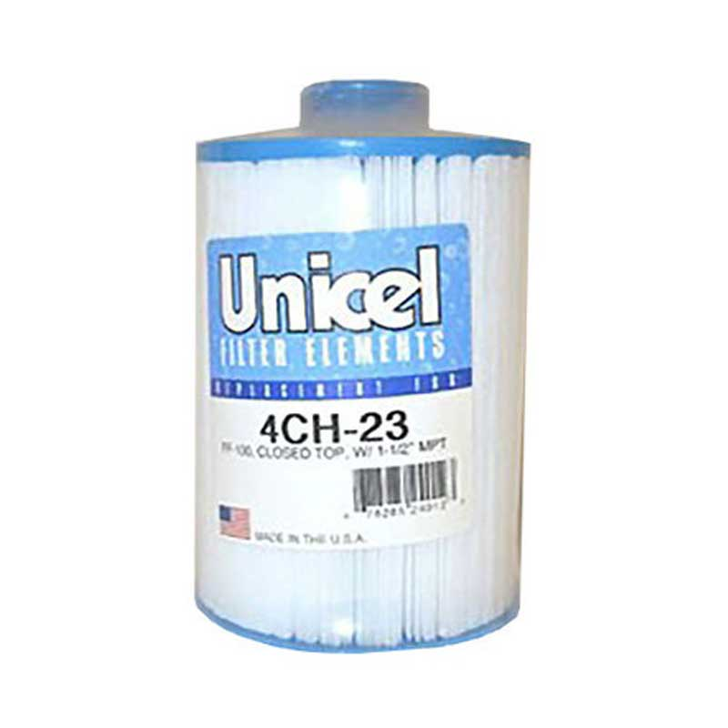 4CH23 Unicel Spa Filter | Replaces: Pleatco PFF25TC-P4 and Filbur FC-2400 - Click N Pick Canada