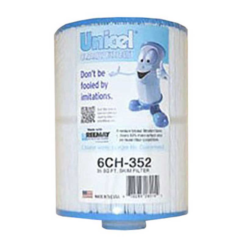 6CH352 Unicel Spa Filter | Replaces: Pleatco PAS40-F2M and Filbur FC-0312 - Click N Pick Canada