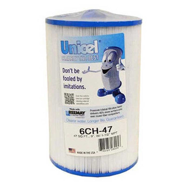 6CH47 Unicel Spa Filter | Replaces: Pleatco PTL47W-P4, Master Deluxe M60471 and Filbur FC-0315 - Click N Pick Canada