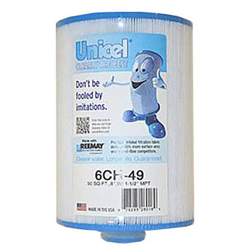 6CH49 Unicel Spa Filter | Replaces: Pleatco PPG50P4, Master Deluxe M60508 and Filbur FC-0314 - Click N Pick Canada