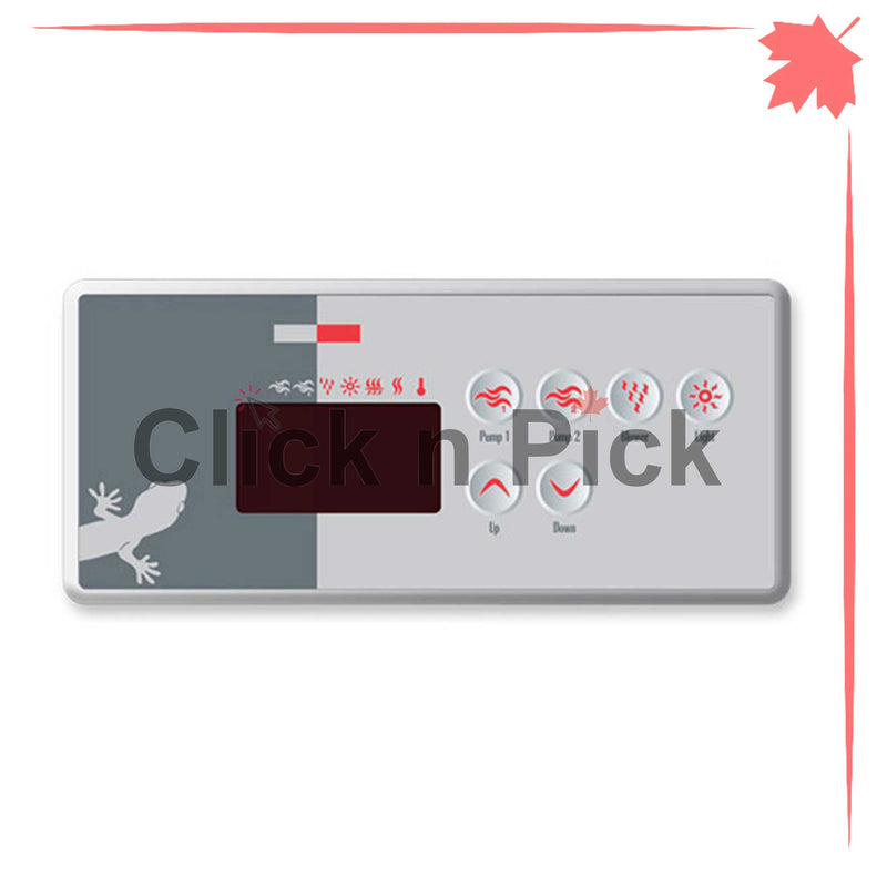 BDLTSC35GE1 Gecko Keypad with Overlay TSC-35-GE1 - Click N Pick Canada