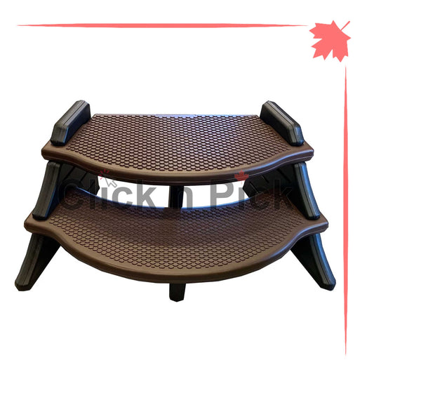 Confer Extra Wide Lightweight Spa Step Espresso - Click N Pick Canada