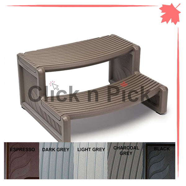 Confer Handi Spa Step Charcoal Grey - Click N Pick Canada