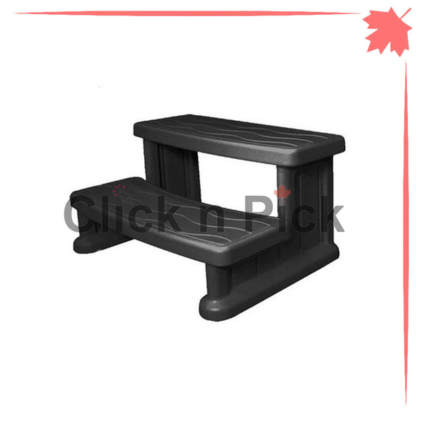 Cover Valet Lightweight Spa Step Black - clicknpickcanada