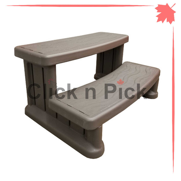 Cover Valet Lightweight Spa Step Grey - clicknpickcanada