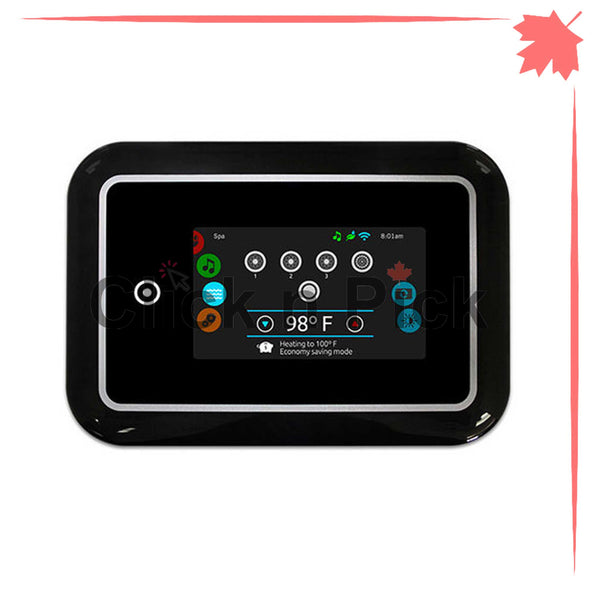 0607-005024 Gecko Keypad In.K1000 Touch Screen Black - Click N Pick Canada
