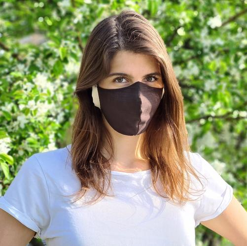 How to clean the sustainable fabric masks?