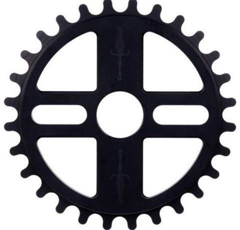 THE MAKE BMX BICYCLE SPROCKET 25t FIT S&M FBM BLACK NEW