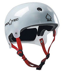 PRO-TEC CLASSIC BUCKY LASEK White Skateboard Helmet Choose SIze NEW!!