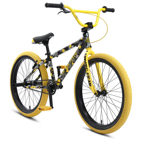 "2021 SE BIKES SO CAL FLYER 24"" YELLOW CAMO"