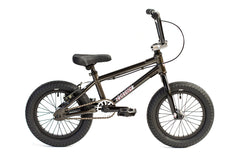 "2021 Colony Horizon 14"" BMX Bike Black/Polished"
